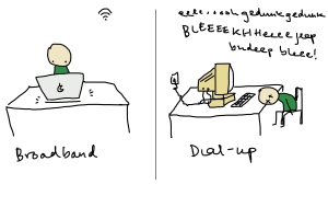 broadband or dial up